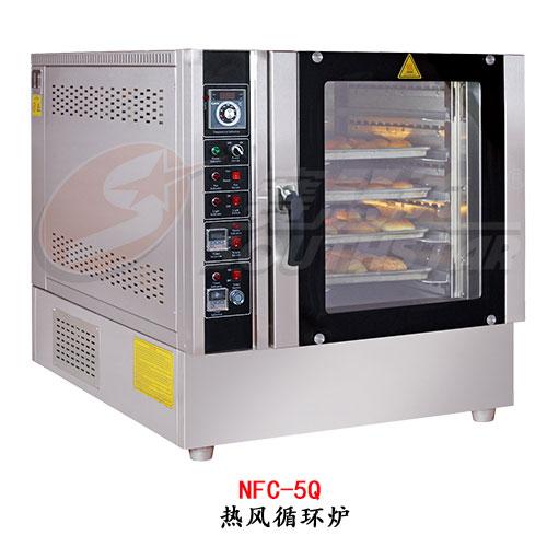 赛思达热风循环炉NFC-5Q五盘燃气型厂家直销