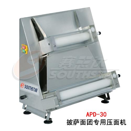 广州赛思达披萨面团专用压面机APD-30面饼成型机厂家直销