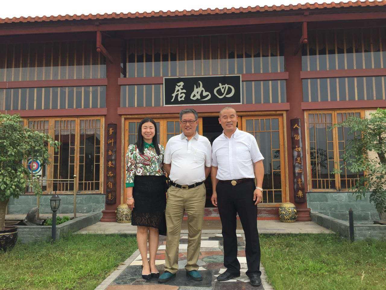 中山酒店用品协会副会长黄锦辉和秘书长钟冰冰来我司走访交流