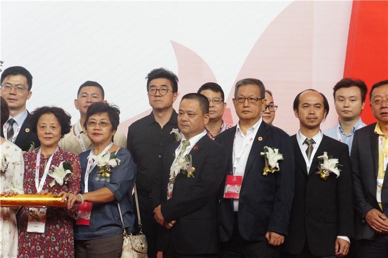 赛思达董事长唐树松参加第二十一届中国烘焙展览会开幕式