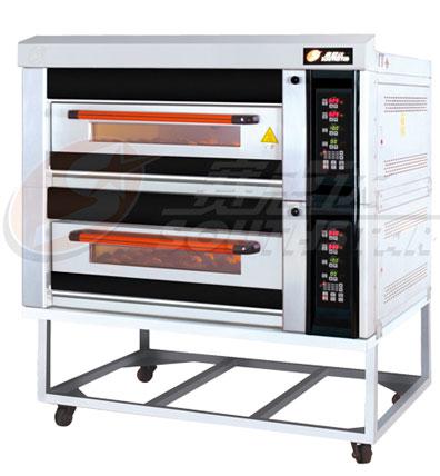 豪华型二层四盘电脑版燃气烤箱 NFR-40HI