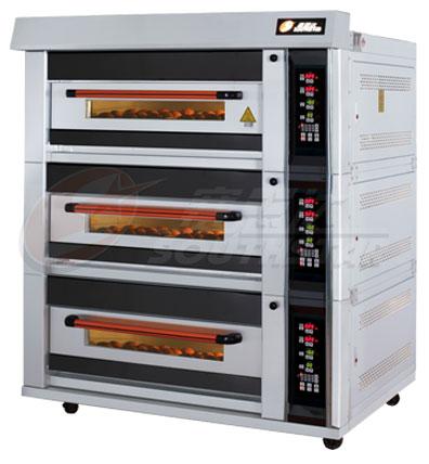 豪华型三层六盘电脑版燃气烤箱 NFR-60HI