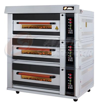 豪华型 三层六盘 电脑版 电烤箱 NFD-60FI 厂家直销