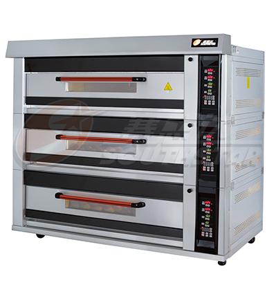 豪华型 三层九盘 电脑版 电烤箱 NFD-90FI 厂家直销