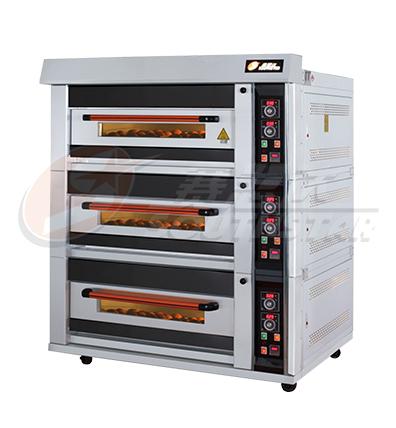 豪华型 三层六盘 仪表版 商用电烤箱 NFD-60F 厂家直销