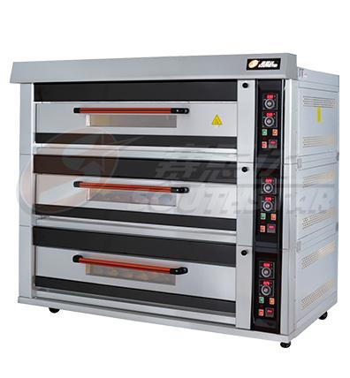 豪华型 三层九盘 仪表版 商用电烤箱 NFD-90F 厂家直销