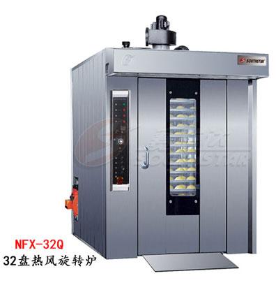 赛思达热风旋转炉NFX-32Q单推车32盘燃气型厂家直销