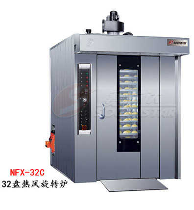 赛思达热风旋转炉NFX-32C单推车32盘柴油型厂家直销