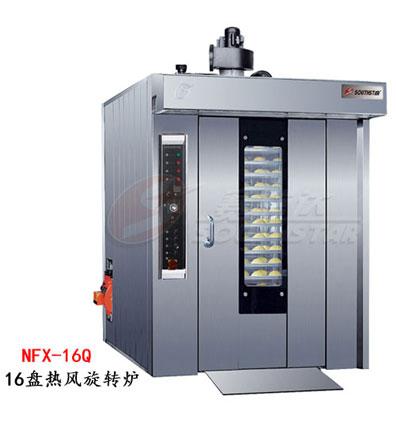 赛思达风旋转炉NFX-16Q单推车热16盘燃气型厂家直销
