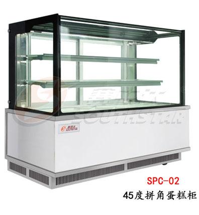 45度拼盘蛋糕柜SPC-02